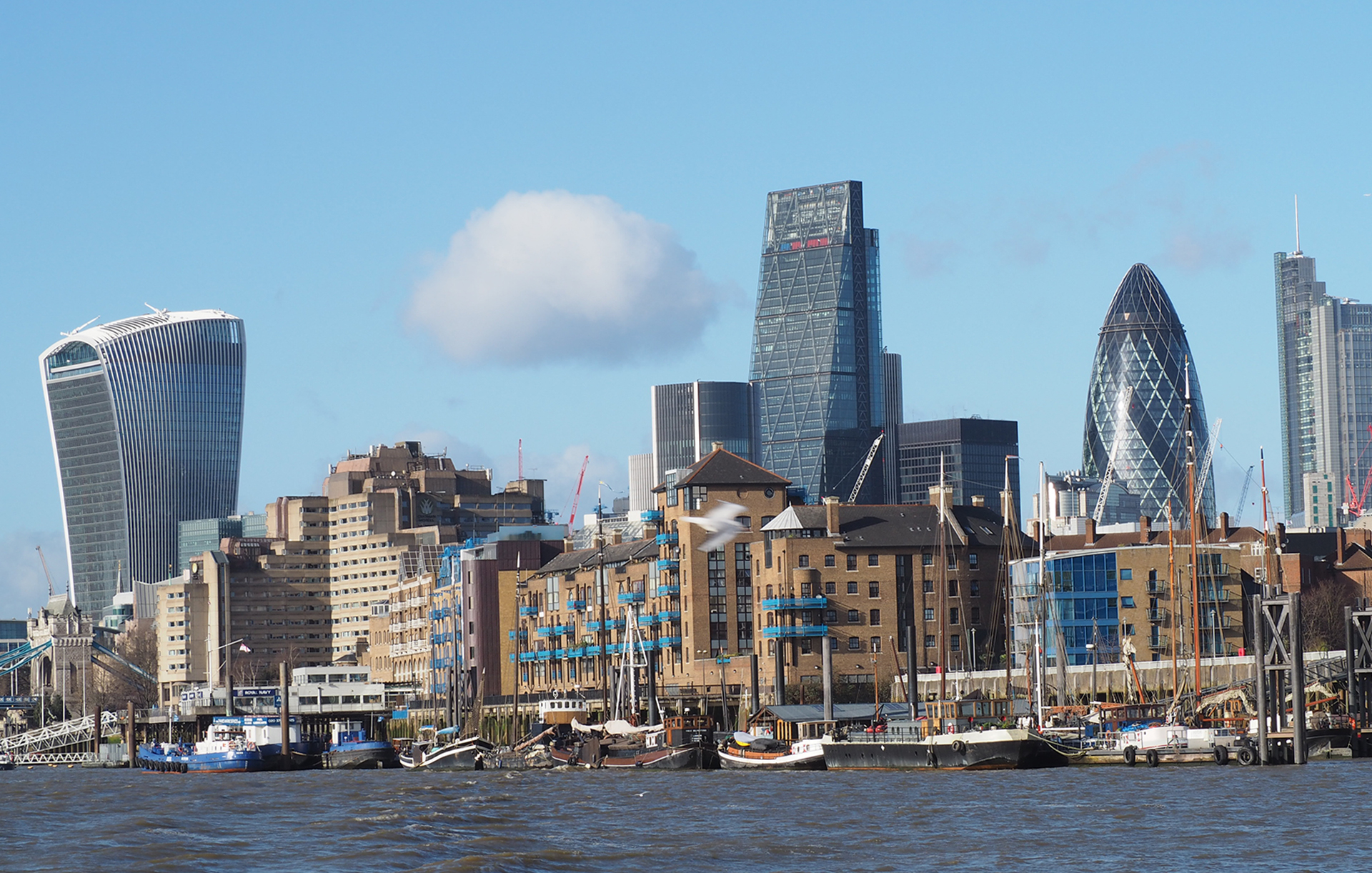 "These buildings are called The ""Walkie Talkie"", the ""Cheese Grater"" and the ""Gherkin in London"