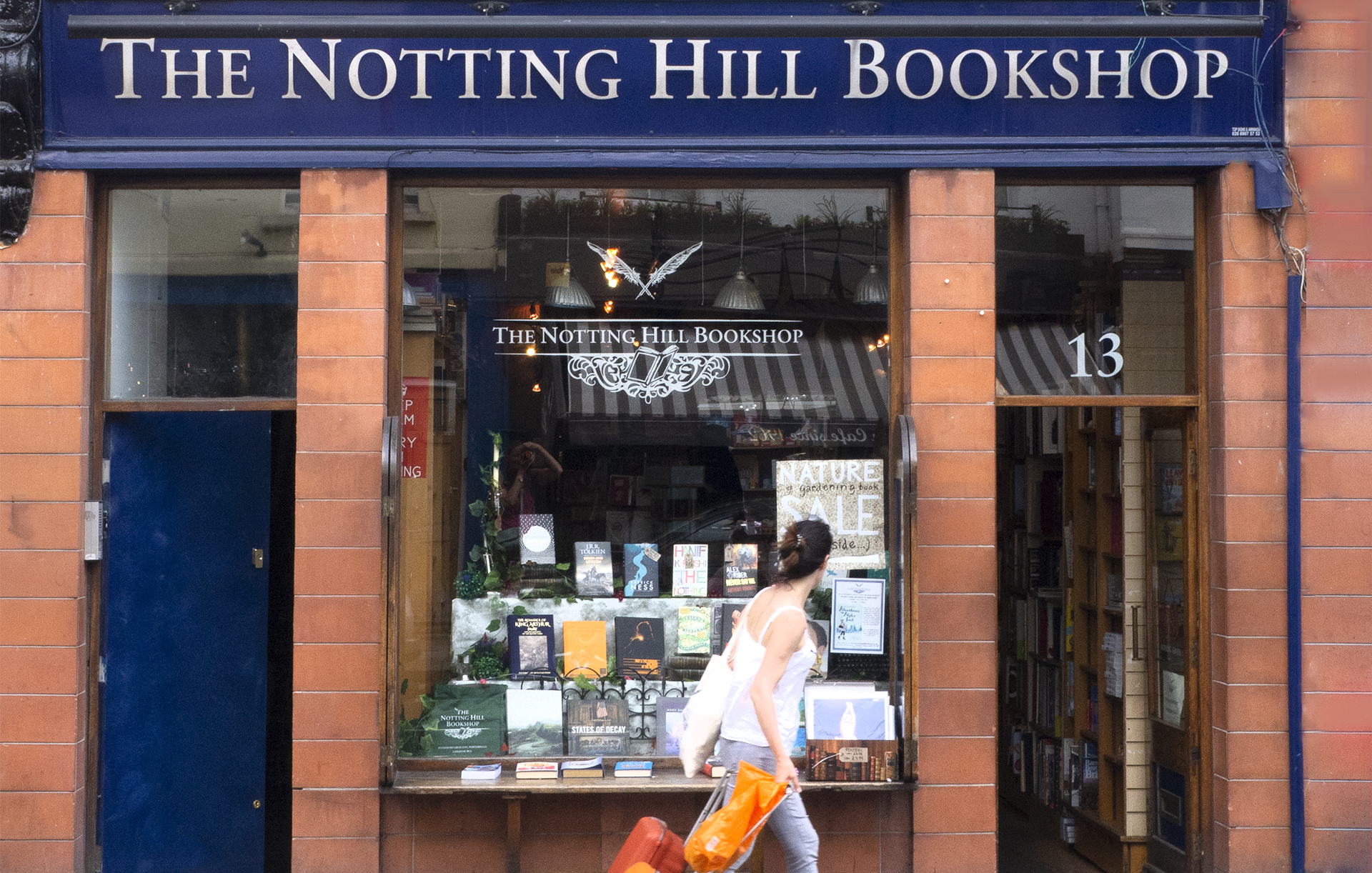 The most famous bookstore in London as seen in the movie Notting Hill with Hugh Grant and Julia Roberts. Explore more film locations through solo travel.